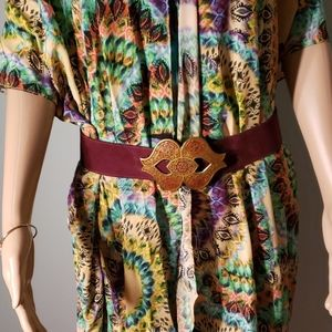 Vintage Golden Hands Belt